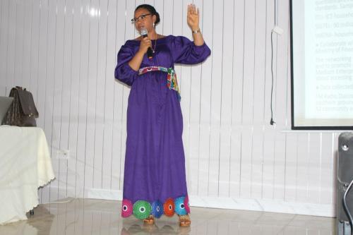 Hannah Bangura on Departmental Presentation